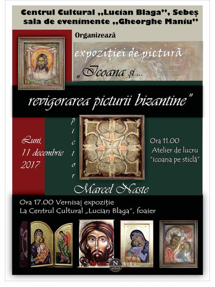 Târgul de Crăciun Sebeș – eveniment dedicat persoanelor varstnice. Atelier și vernisaj arta icoanelor