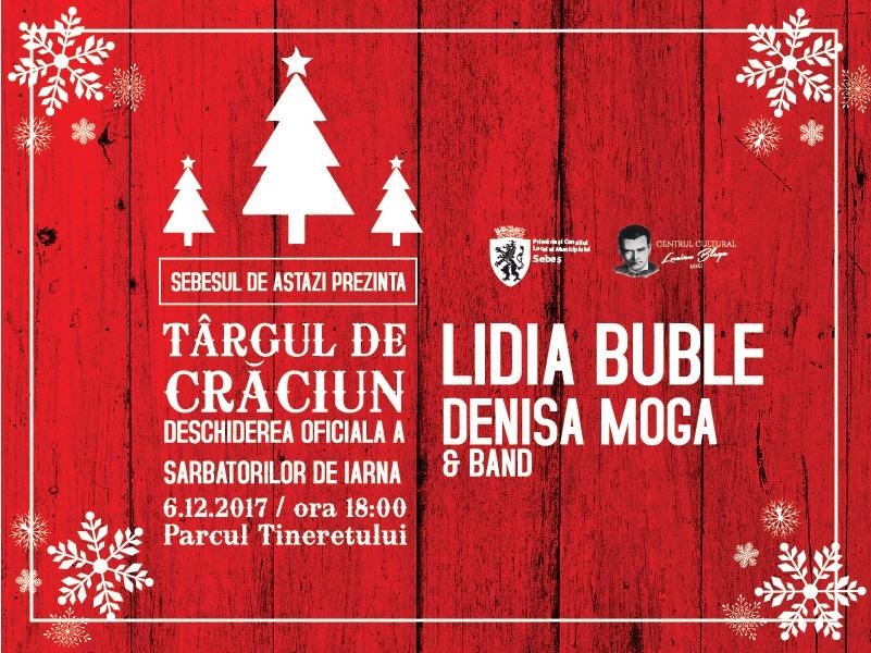 Deschiderea oficială a Târgului de Crăciun Sebeș, 6 decembrie, ora 18.00, Parcul Tineretului