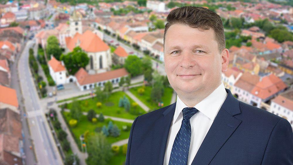 Prin atragerea de fonduri nerambursabile, primarul Dorin Nistor dublează investițiile la Sebeș