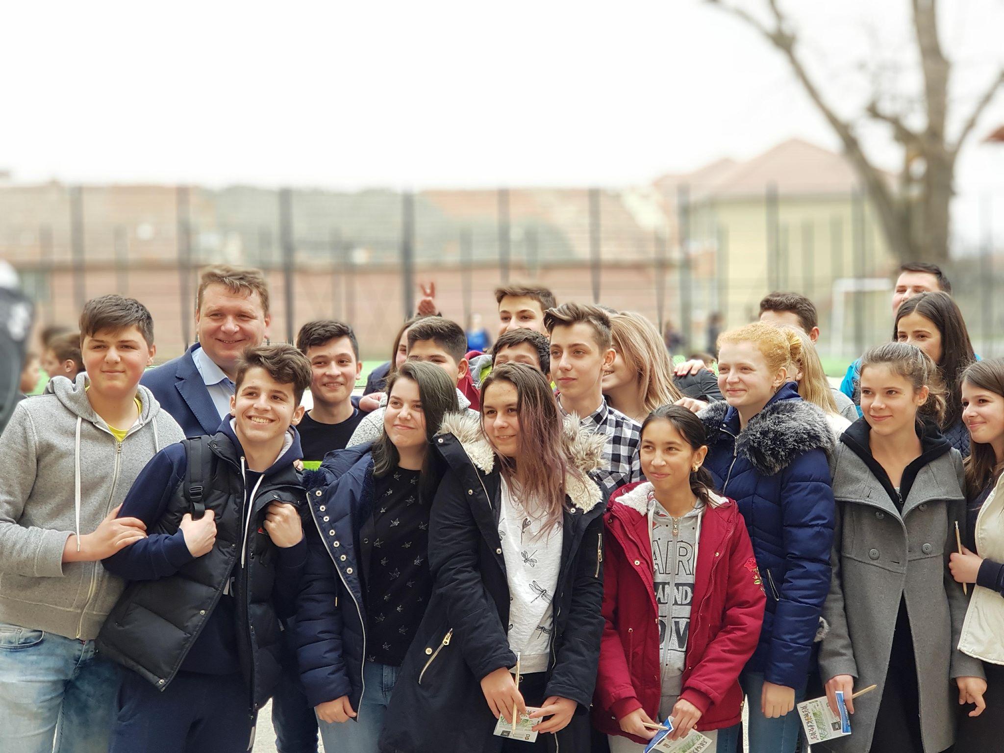 """21 APRILIE 2018, ora 9.00 """"SEBEŞ, UN ORAŞ CURAT! Împreună reuşim!"""""""