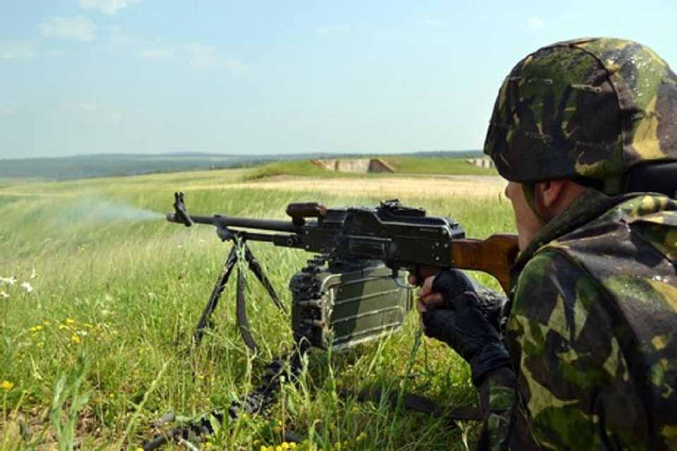 """Trageri cu muniție de război în poligonul """"Râpa Roșie"""" 20.09.2018 orele 14-22"""