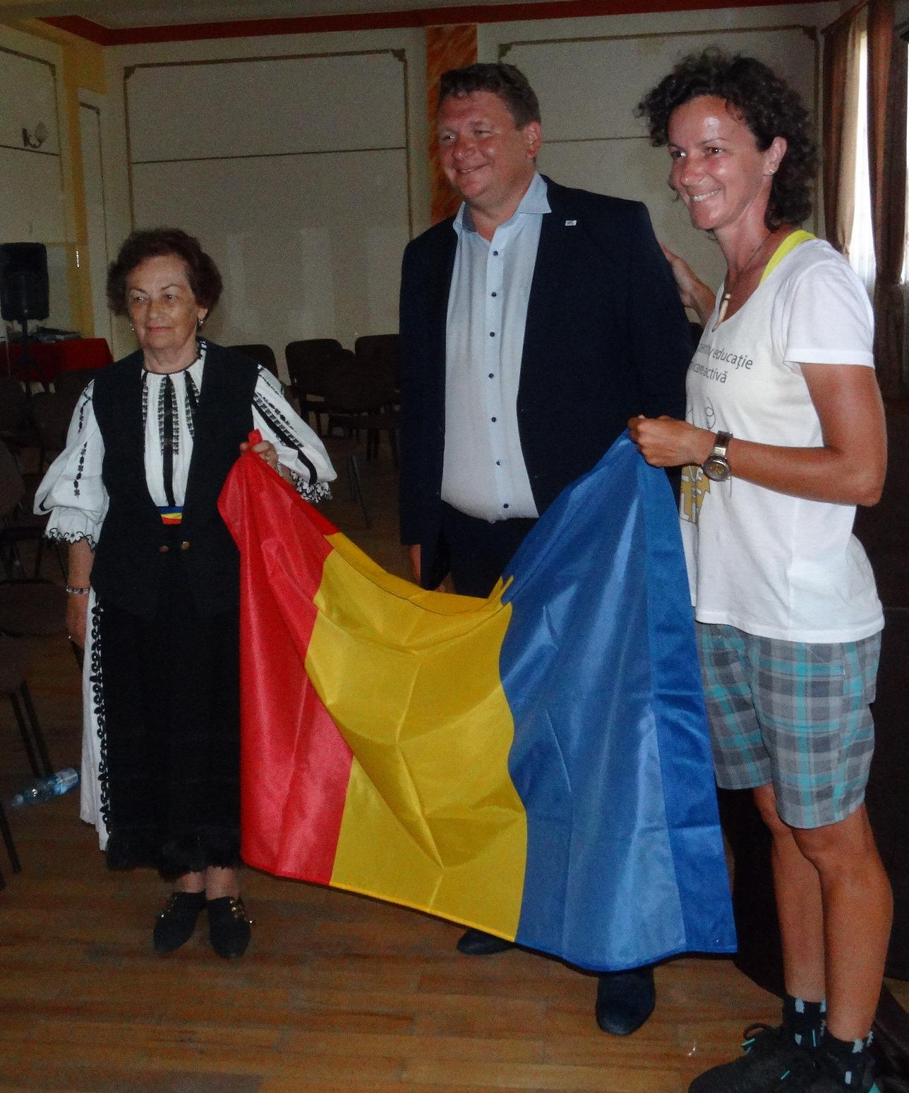 Raluca Ciulei a ajuns la Sebeș
