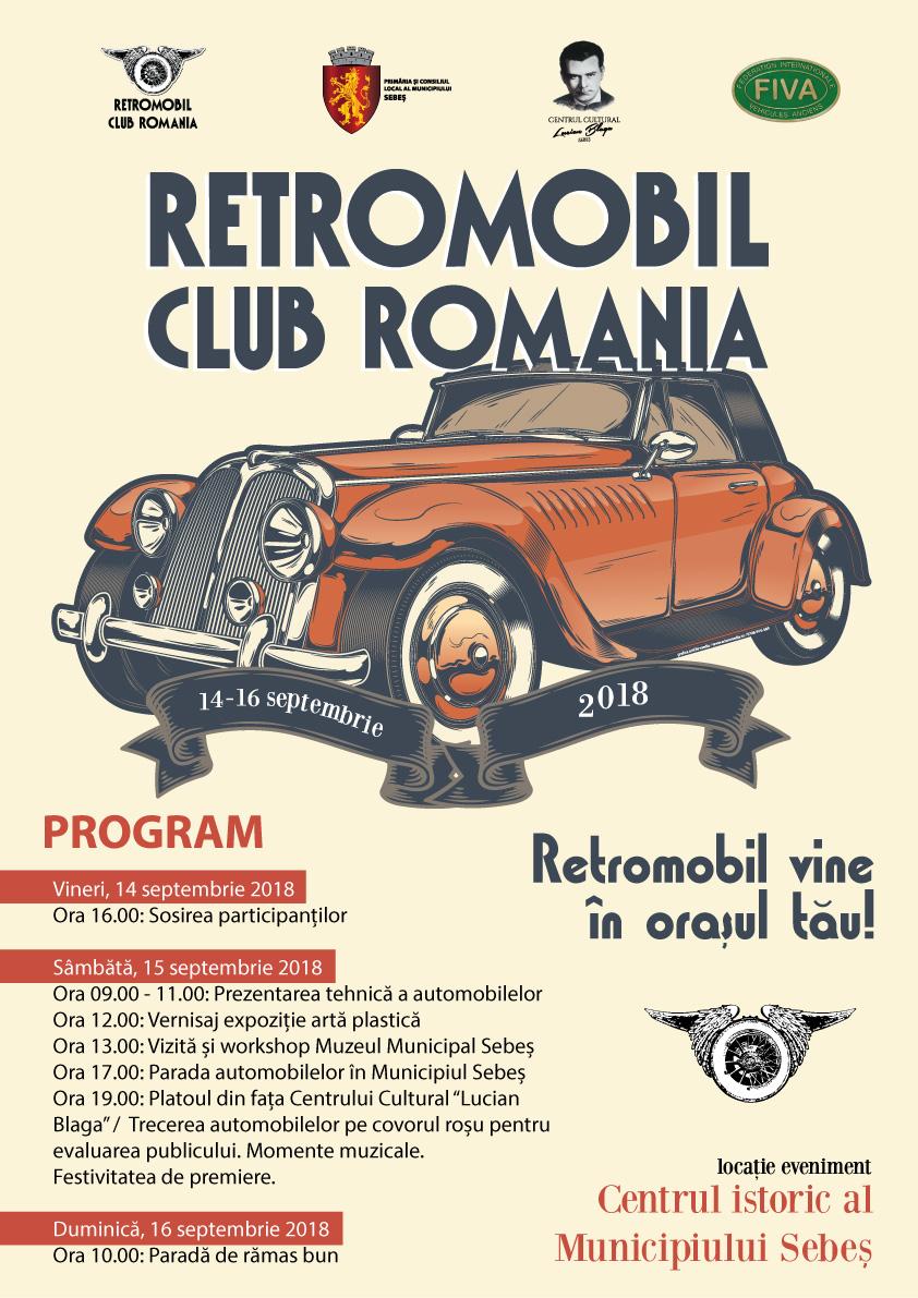 Retromobil vine în orașul tău 14-16 septembrie