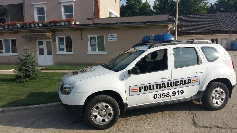 În dotarea Poliției Locale Sebeș nu se află autovehiculul inscripționat greșit