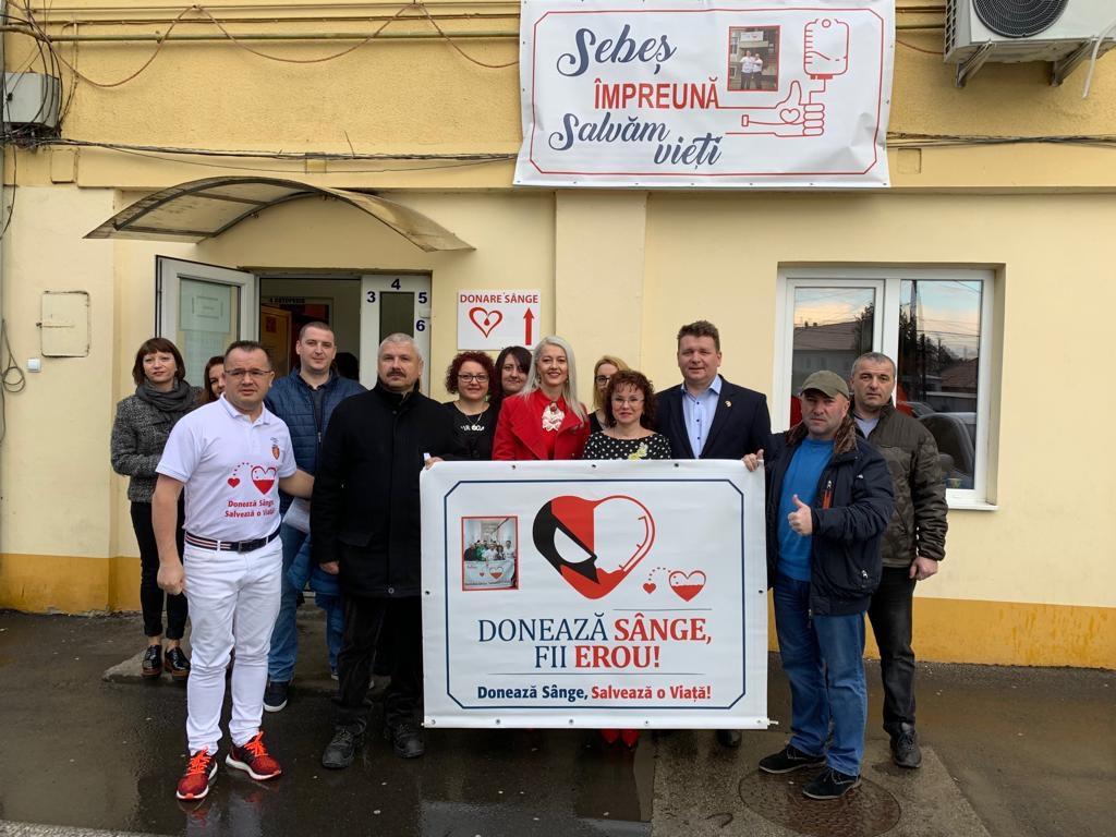 Acțiunea de donare de sânge din 6 martie 2019, de la Spitalul Municipal Sebeș, a fost o reușită