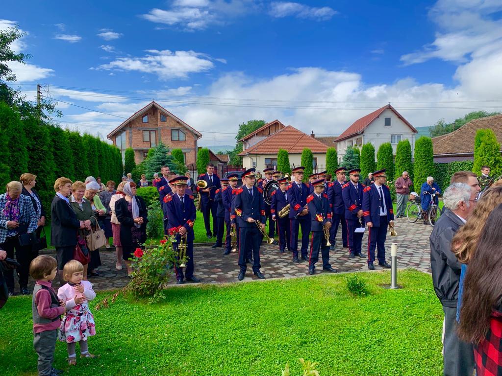 Fanfara Petrești susține duminică două concerte în aer liber, la Sebeș și la Petrești
