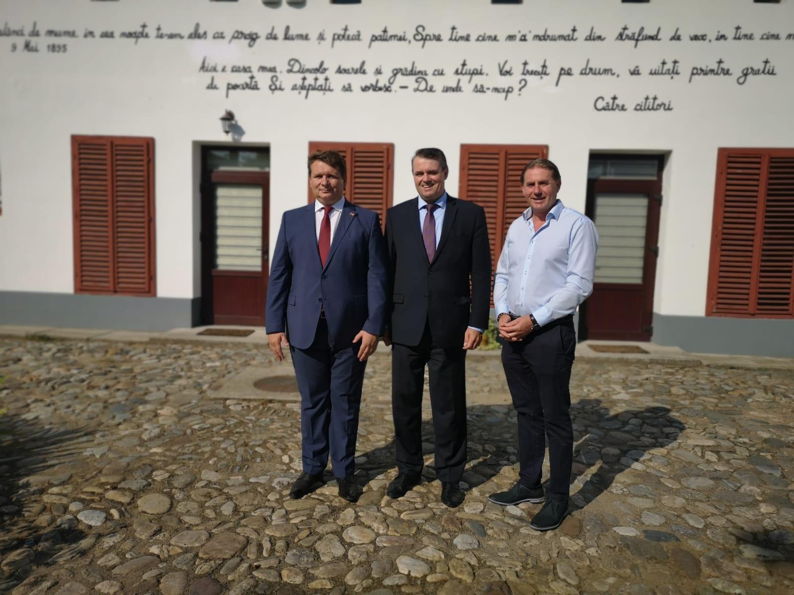 Vizita ambasadorului Slovaciei la Sebeș