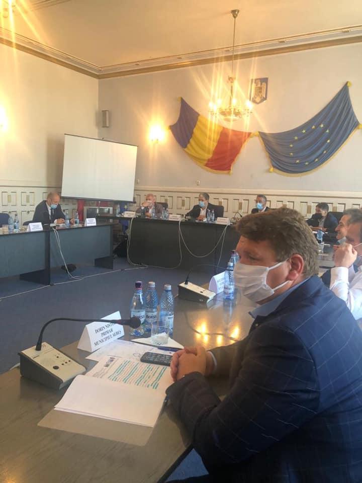 Proiecte importante pentru Sebeș, susținute de primarul Dorin Nistor, în cadrul întâlnirii de lucru cu ministrul fondurilor europene, Marcel Ioan Boloș