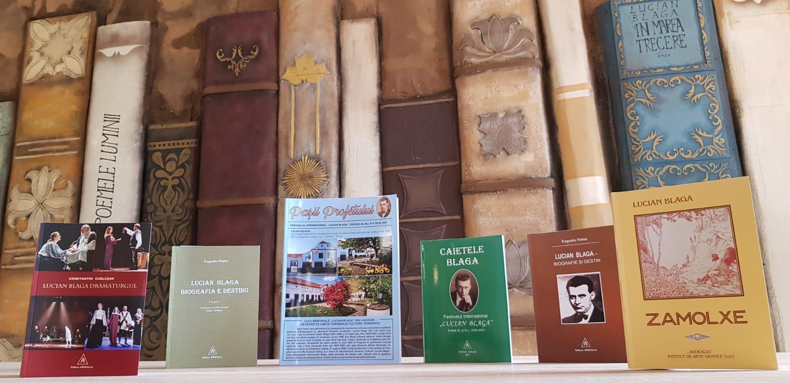 """Noi proiecte editoriale realizate de Centrul Cultural """"Lucian Blaga"""" Sebeș, în parteneriat cu editurile """"Ardealul"""" și """"Școala Ardeleană"""""""