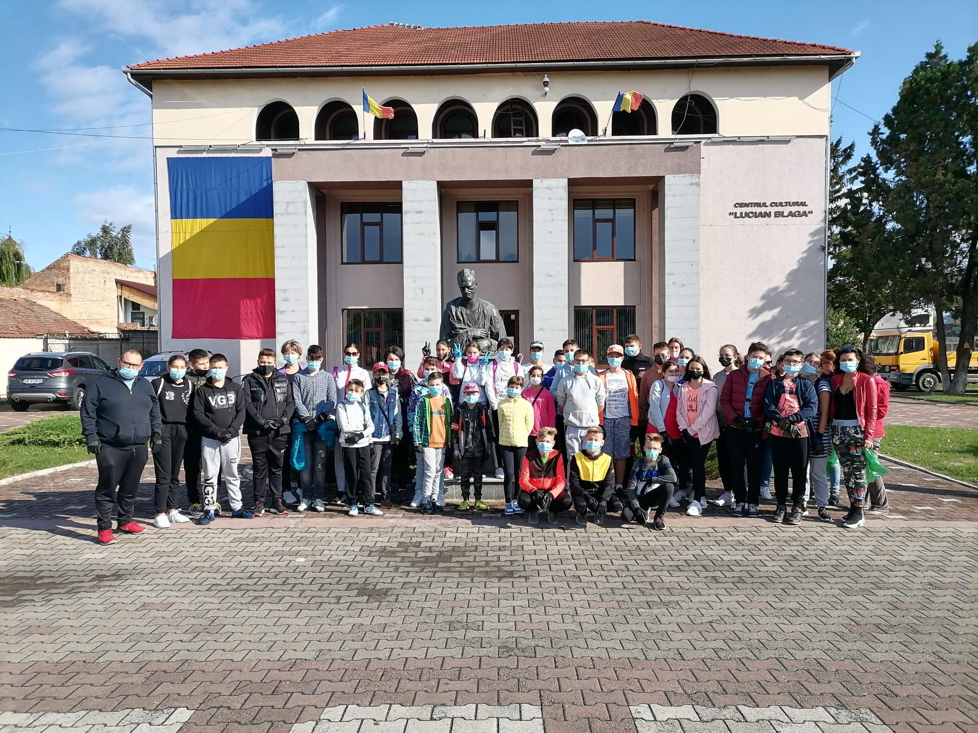 Bilanțul voluntarilor de la Sebeș, în Ziua de Curățenie Națională