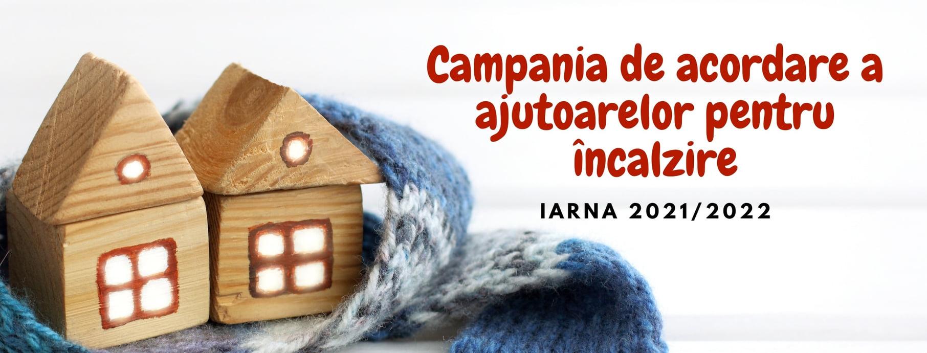Acordarea ajutorului pentru încălzirea locuinței sezonul 2021-2022